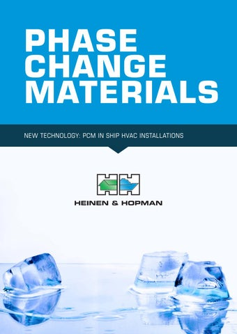 Whitepaper Phase Change Materials by Heinen & Hopman - issuu