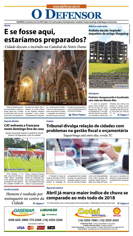 1bca96fd3ad Jornal O Defensor 19 de abril de 2019 by gabriel baglioti - issuu