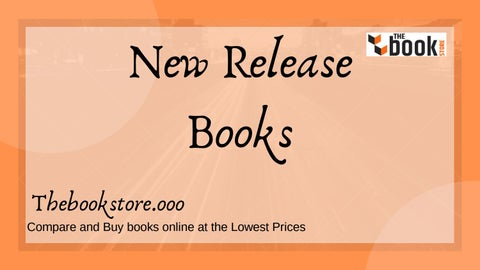 0e99704dcbfc0 Buy New release books online at the best price from TheBookStore.ooo ...