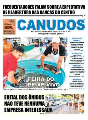 835a9a8bd4 Jornal Canudos - Edição 589 by Jornal Canudos - Comercial - issuu