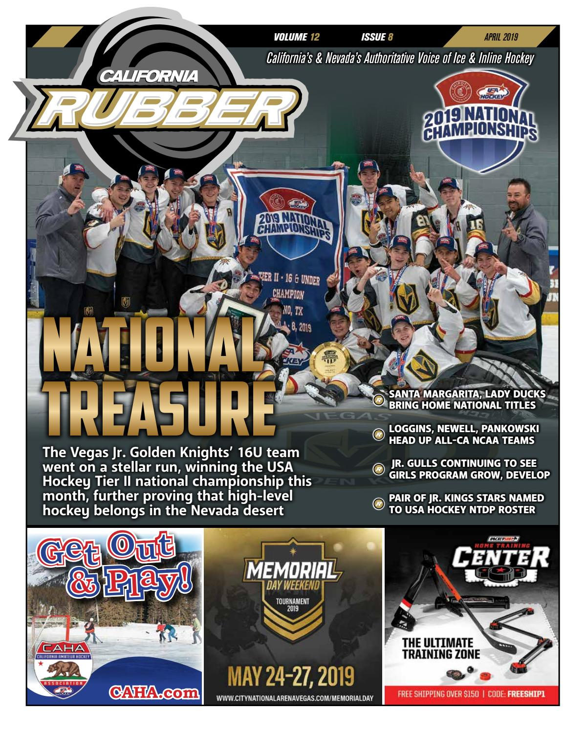 3fe901a8c3b5 California Rubber Magazine - April 2019 by Rubber Hockey Magazines - issuu