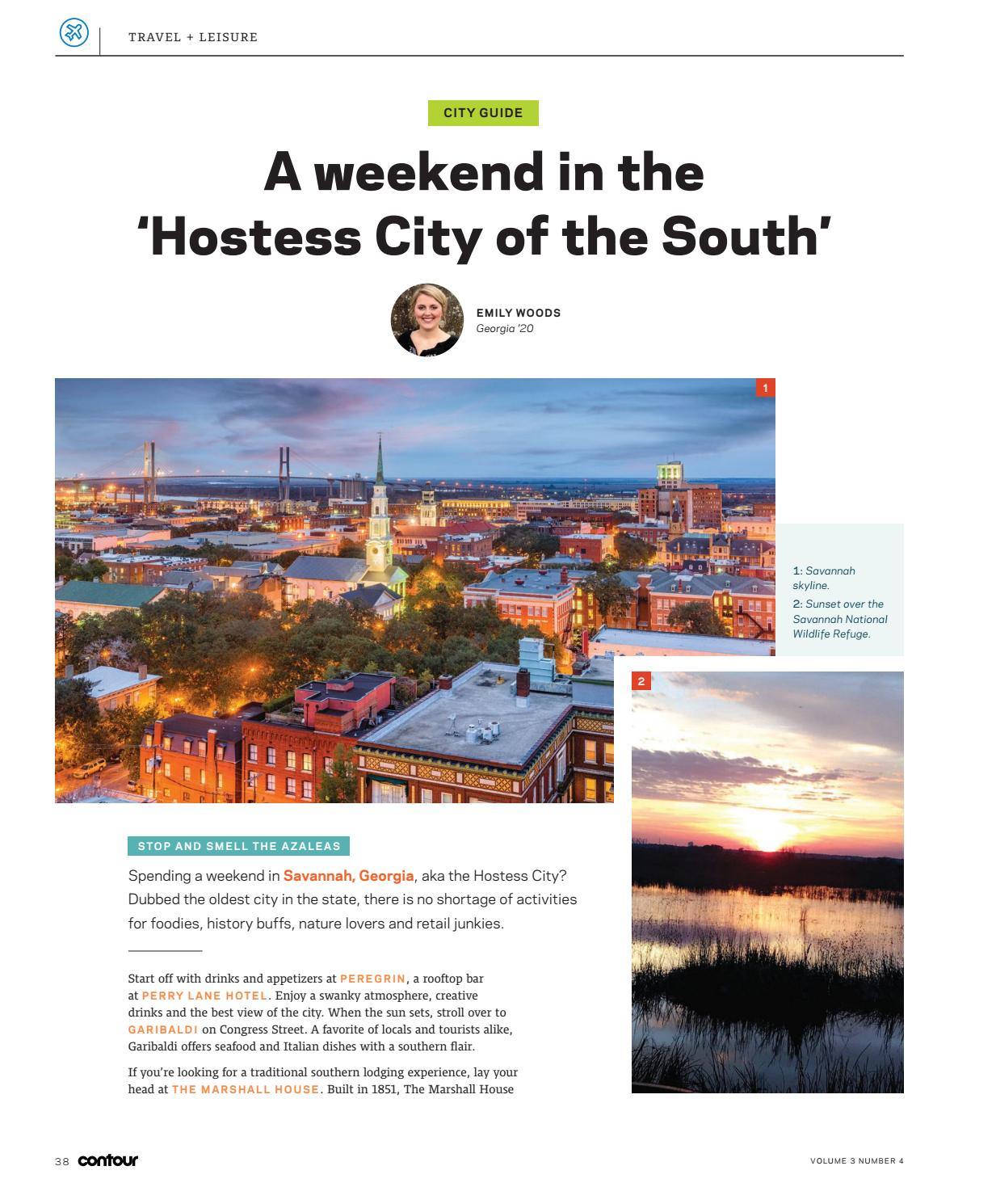 A Weekend in the 'Hostess City of the South,' Emily Woods, C