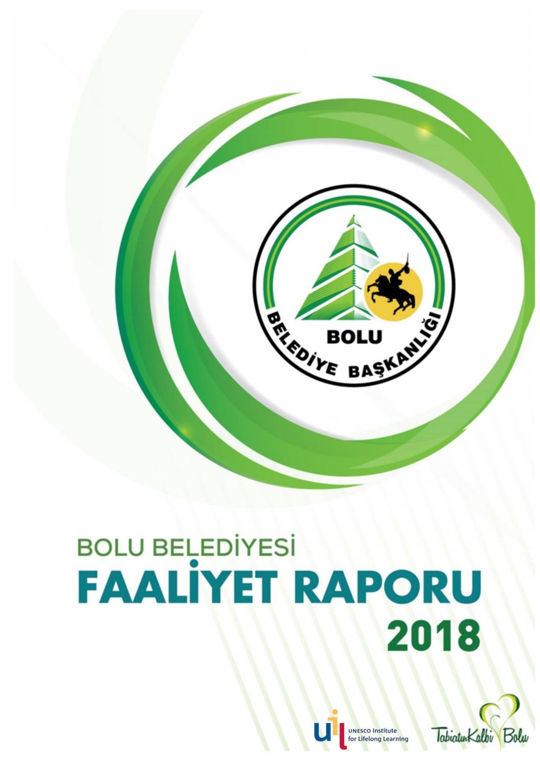 Bolu Belediyesi 2018 Faaliyet Raporu By Bolu Belediyesi Issuu
