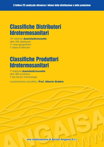 Idrosart Ferrara Arredo Bagno.Classifiche Bilanci Angaisa By Angaisa Issuu
