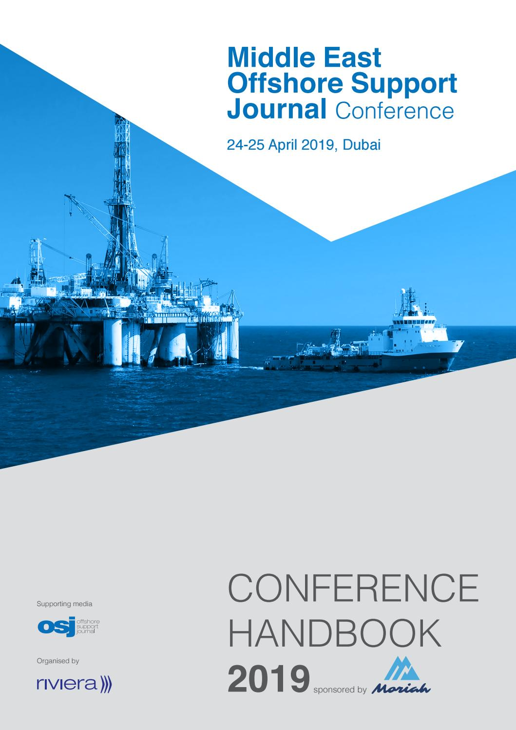 Middle East Offshore Support Journal Conference handbook