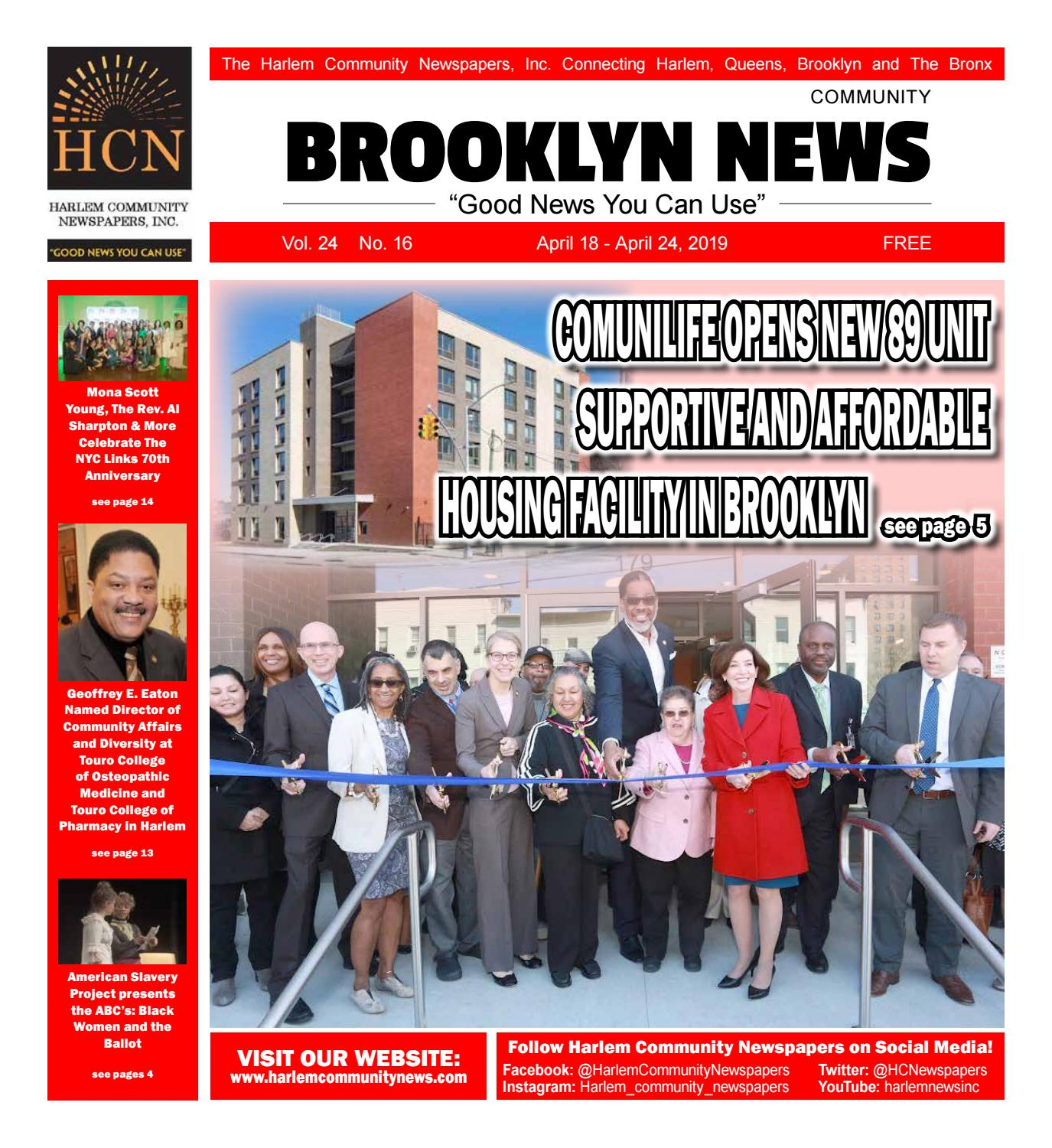 Brooklyn Community Newspapers | April 18, 2019