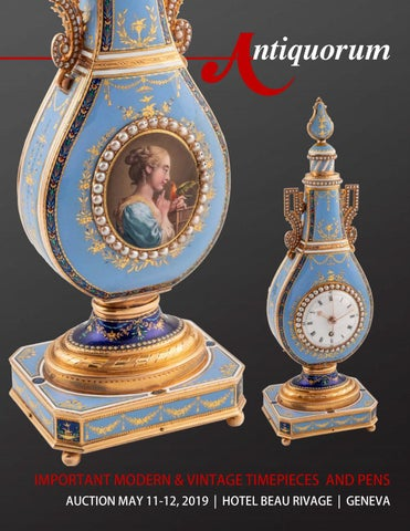 41d4ae87aae Important Modern   Vintage Timepieces by Antiquorum Genève SA - issuu