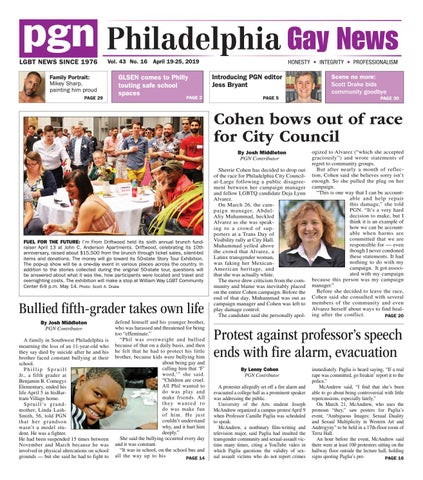 d9146990ff0 PGN April 19-25, 2019 by The Philadelphia Gay News - issuu
