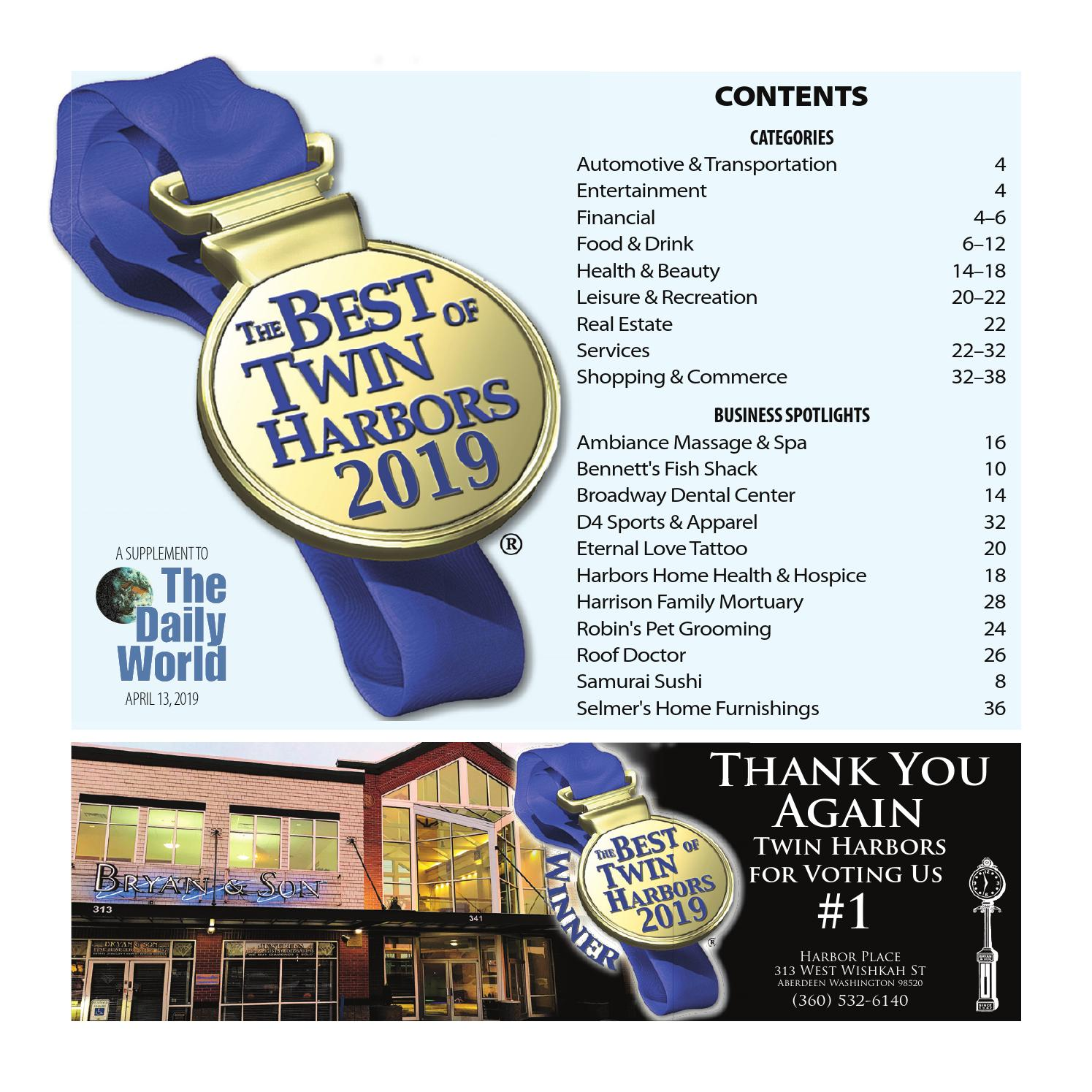 ADW - Best of Twin Harbors - Best of Twin Harbors 2019 by