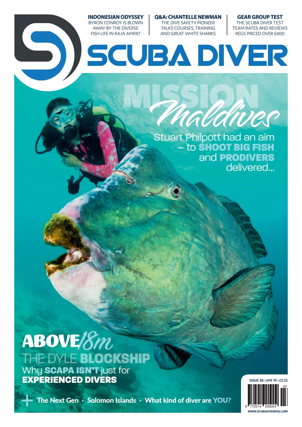 Scuba Diver April Issue by scubadivermag - issuu