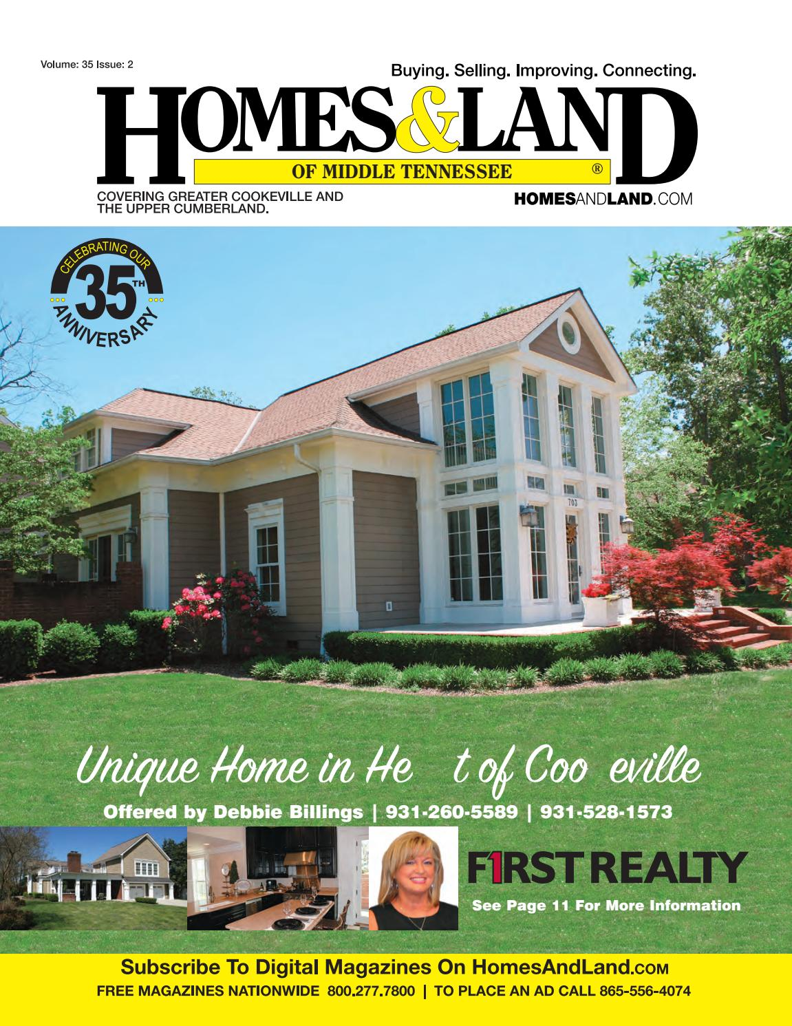 Homes & Land of Middle Tennessee Vol 35 Issue 2 by Homes & Land of