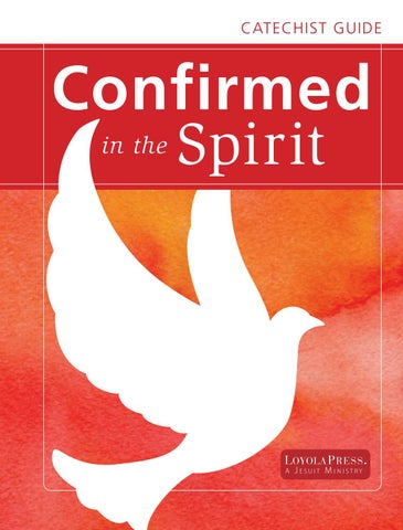 Confirmed in the Spirit Catechist Guide | English by Loyola