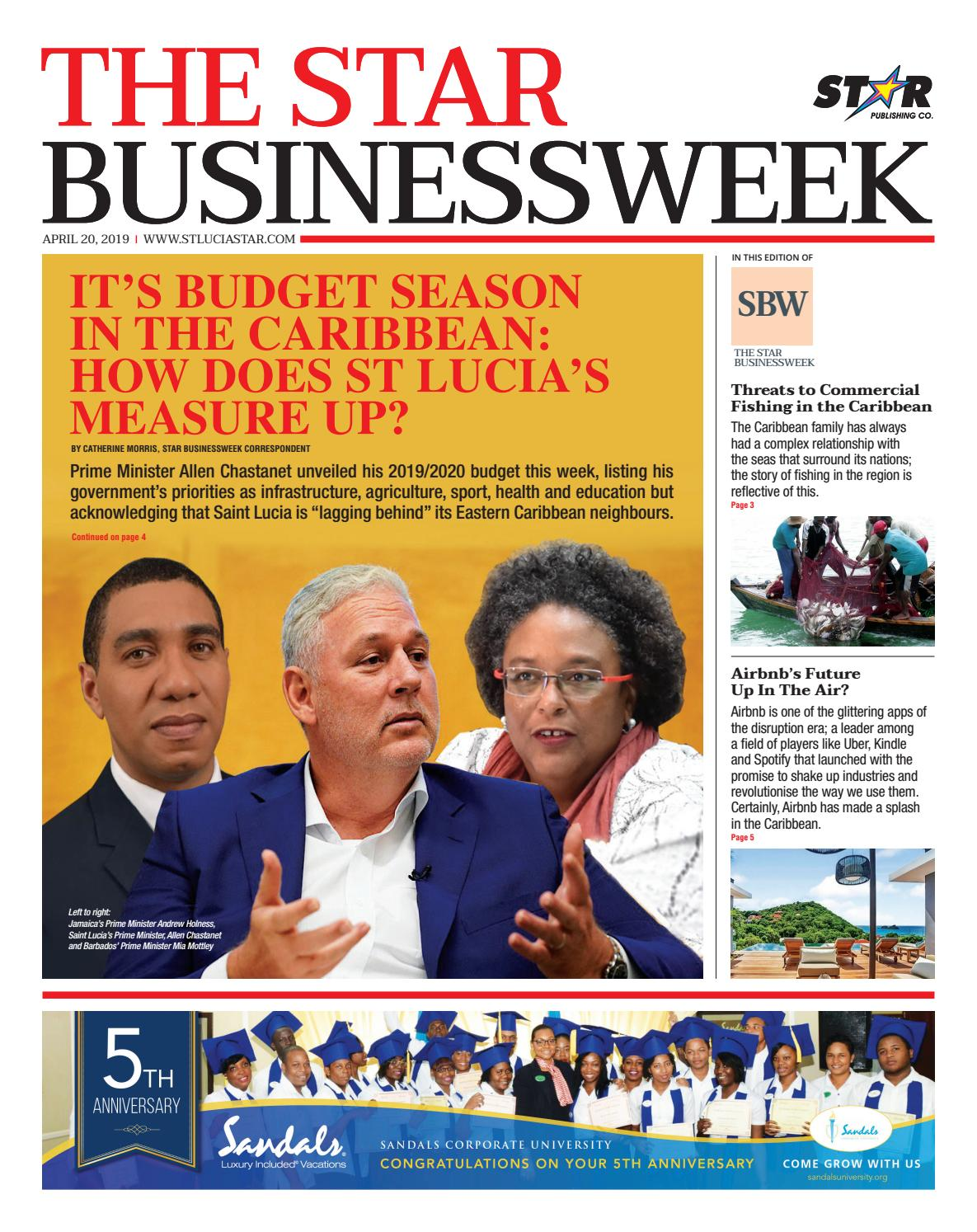 It's Budget season In the CarIbbean: How does St Lucia's measure up