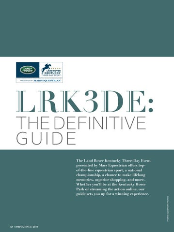 Page 70 of LRK3DE: The Definitive Guide