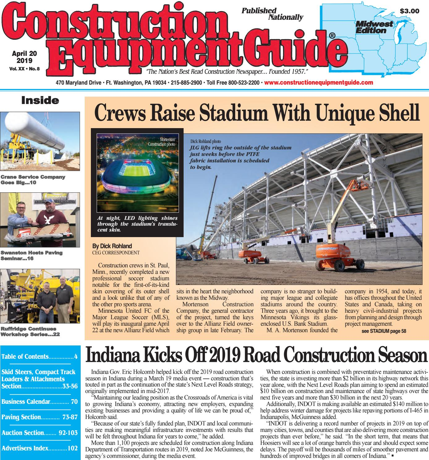 Midwest 8 April 20, 2019 by Construction Equipment Guide - issuu