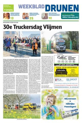 b6a3c8501c7 Weekblad Drunen 17-04-2019 by Uitgeverij Em de Jong - issuu