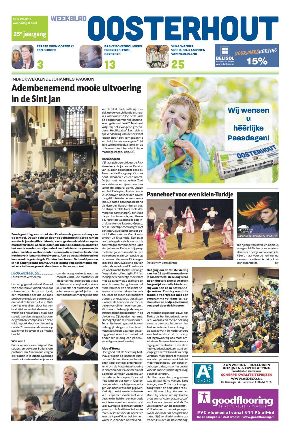 4bd5c388d7035d Weekblad Oosterhout 17-04-2019 by Uitgeverij Em de Jong - issuu