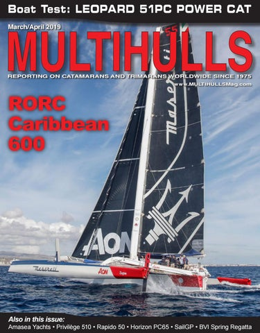 MULTIHULLS Magazine March/April 2019 by catamarans - issuu
