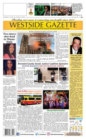 The Westside Gazette by westside gazette - issuu