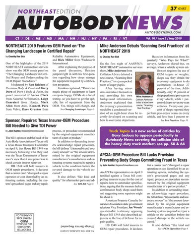 May 2019 Northeast Edition by Autobody News - issuu