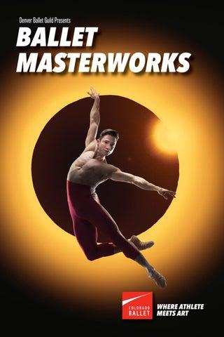 Colorado Ballet Spring 2019, Ballet Masterworks