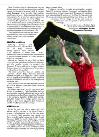 Page 33 of Cover story: Drones offer safe, efficient tool for insurance companies