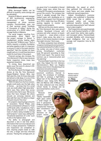 Page 37 of Use of drones brings unprecedented savings to construction, mining industries