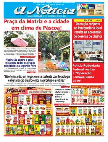 ee97c4ca1 www.anoticia.com / facebook: jornalanoticia / twitter:@anoticiaslg ANO 85 -  NÚMERO 8.103 - SÃO LUIZ GONZAGA - RS