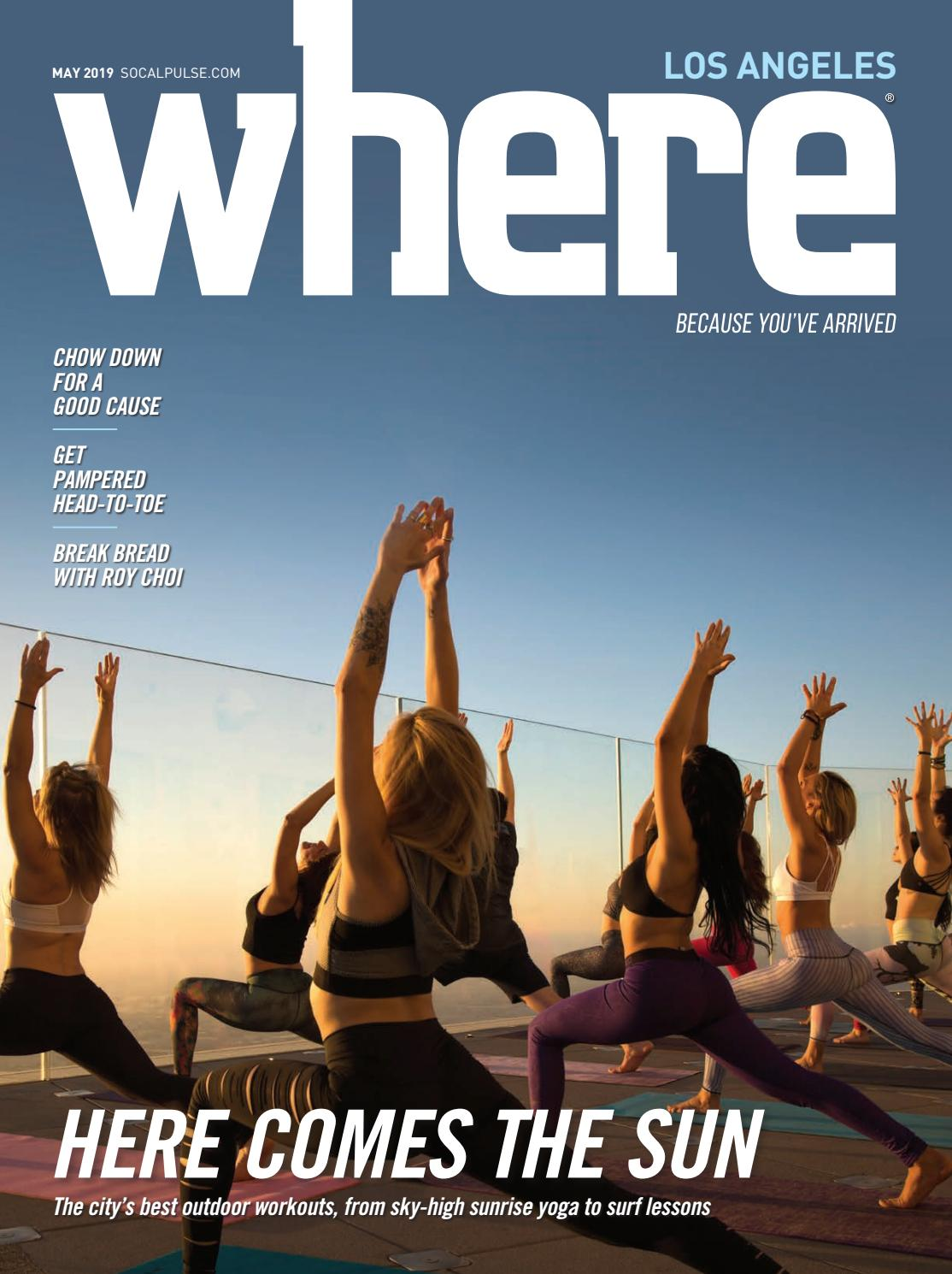Where Los Angeles May 2019 By California Media Group Issuu