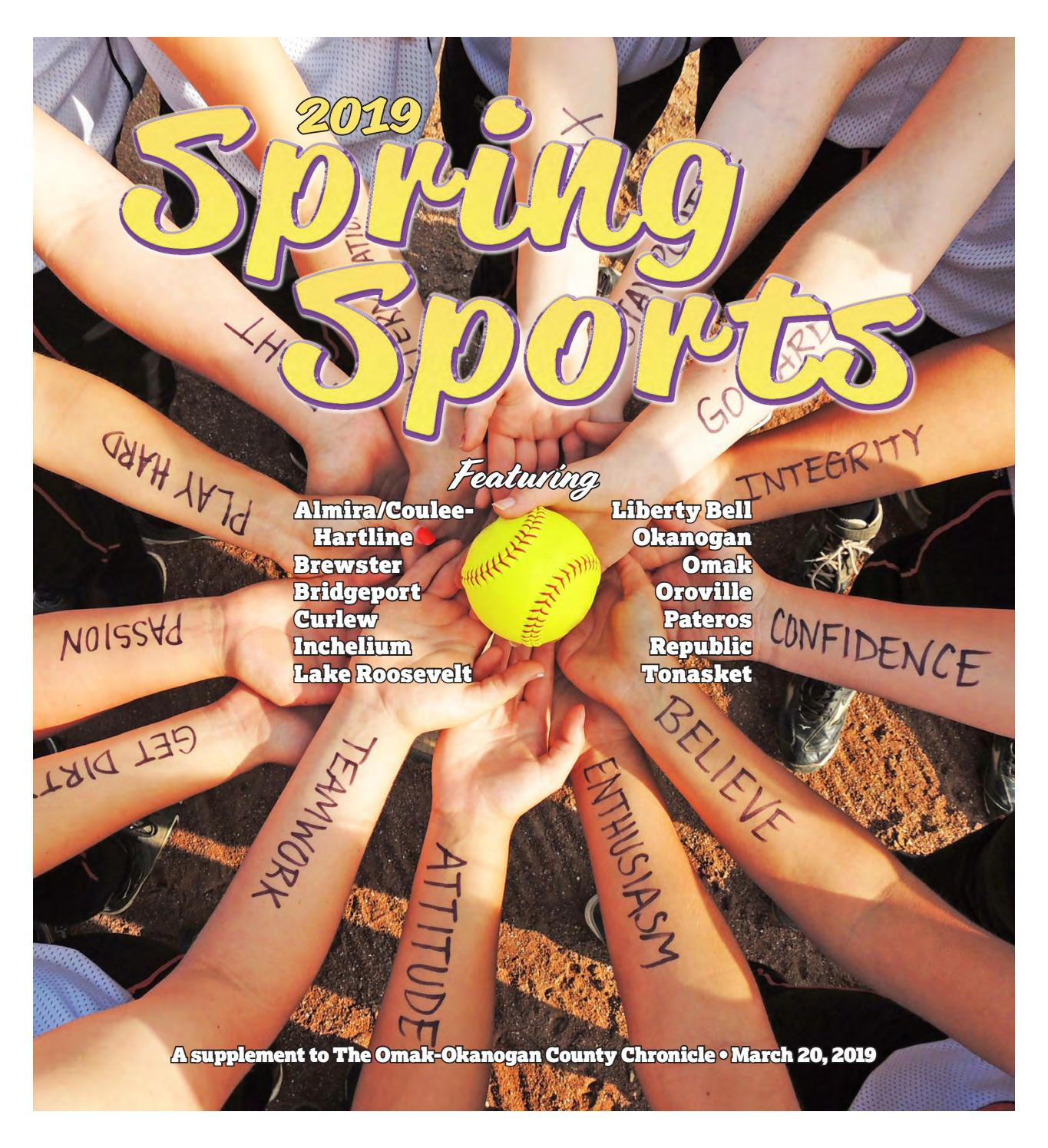 Spring Sports 2019 By The Omak Okanogan County Chronicle Issuu