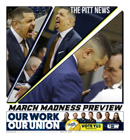 bae9283c7f13 March Madness 2019 by The Pitt News - issuu