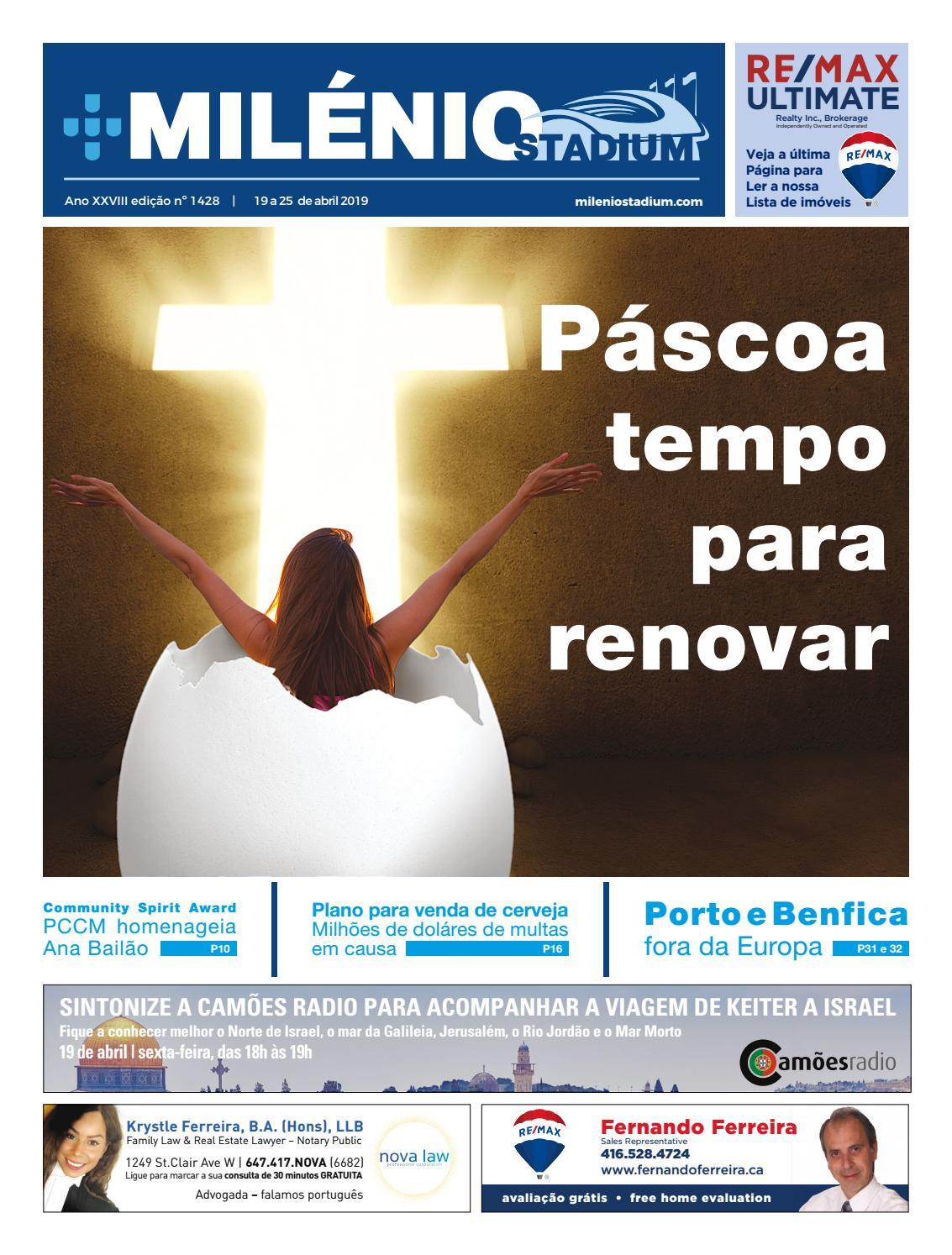 d76711d6e Milénio Stadium - Edição 1428 - 2019-04-19 by Milénio Stadium - issuu