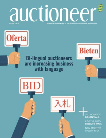 Auctioneer April 2019 By National Auctioneers Association