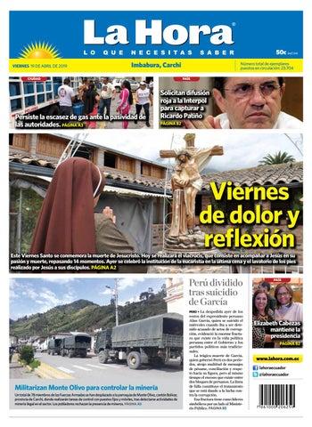 340f68bc39 Imbabura 19 de abril de 2019 by Diario La Hora Ecuador - issuu