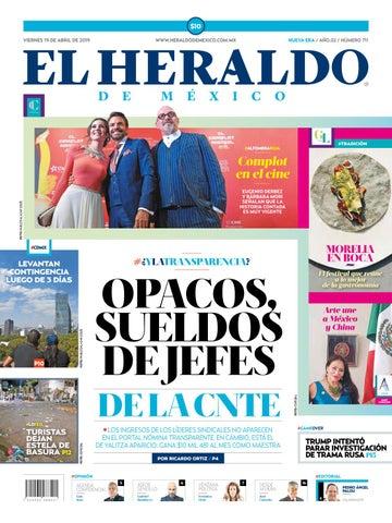 e2f02bcf43 Viernes 19 de abril de 2019 by El Heraldo de México - issuu