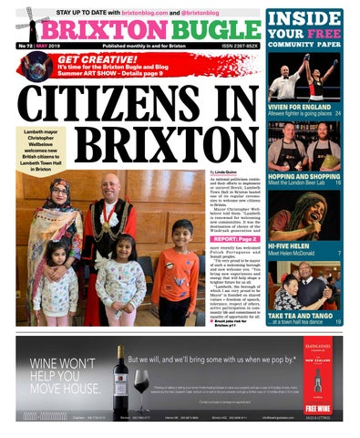 91320622f4 Brixton Bugle May 2019 by Brixton Bugle - issuu