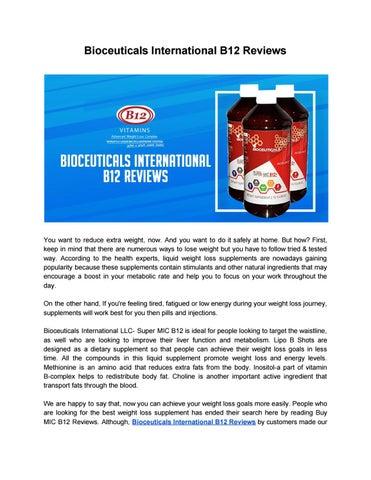 Bioceuticals International B12 Reviews by buysupermicb12 - issuu