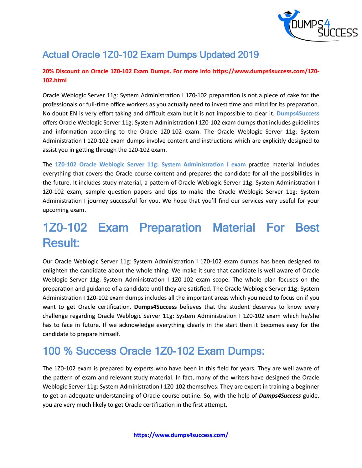 Oracle 1Z0-102 Briandumps Exam Questions by will70051 - issuu