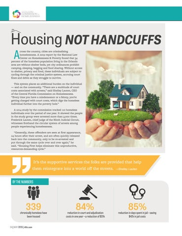 Page 36 of Housing Not Handcuffs | Central Florida Commission on Homelessness