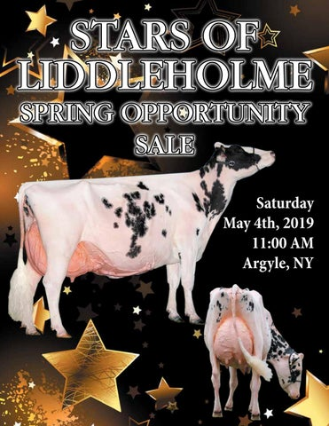 Stars of Liddleholme Spring Opportunity Sale 2019 by