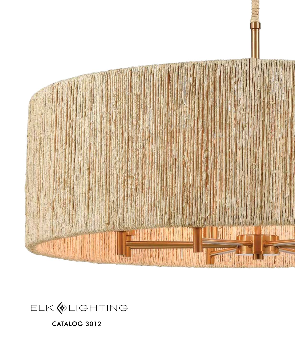 ELK Lighting 3012 Catalog by ELK Group International issuu
