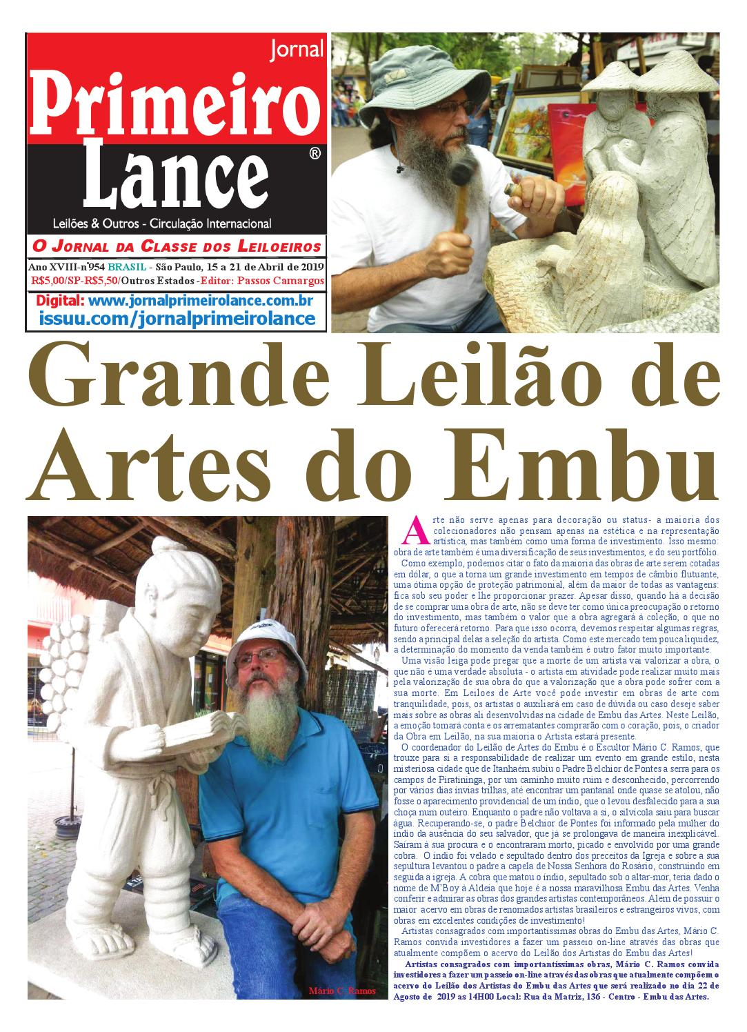 Jornal Primeiro Lance by Jornal Primeiro Lance - issuu