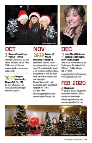 Waupun 2020 Christmas Parade Waupun Chamber Guide 2019 by Madison.  issuu