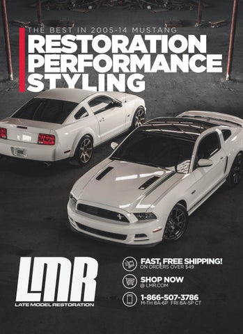 2005 14 ford mustang catalog by late model restoration issuu2011 Ford Mustang Gt California Special Further Ford Wiring Diagrams #19