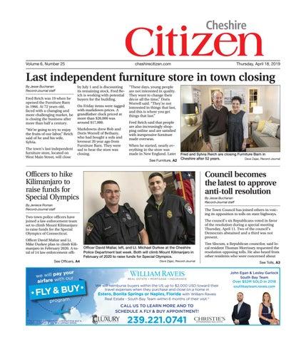 Cheshire Citizen - April 18, 2019 by Cheshire Citizen - issuu