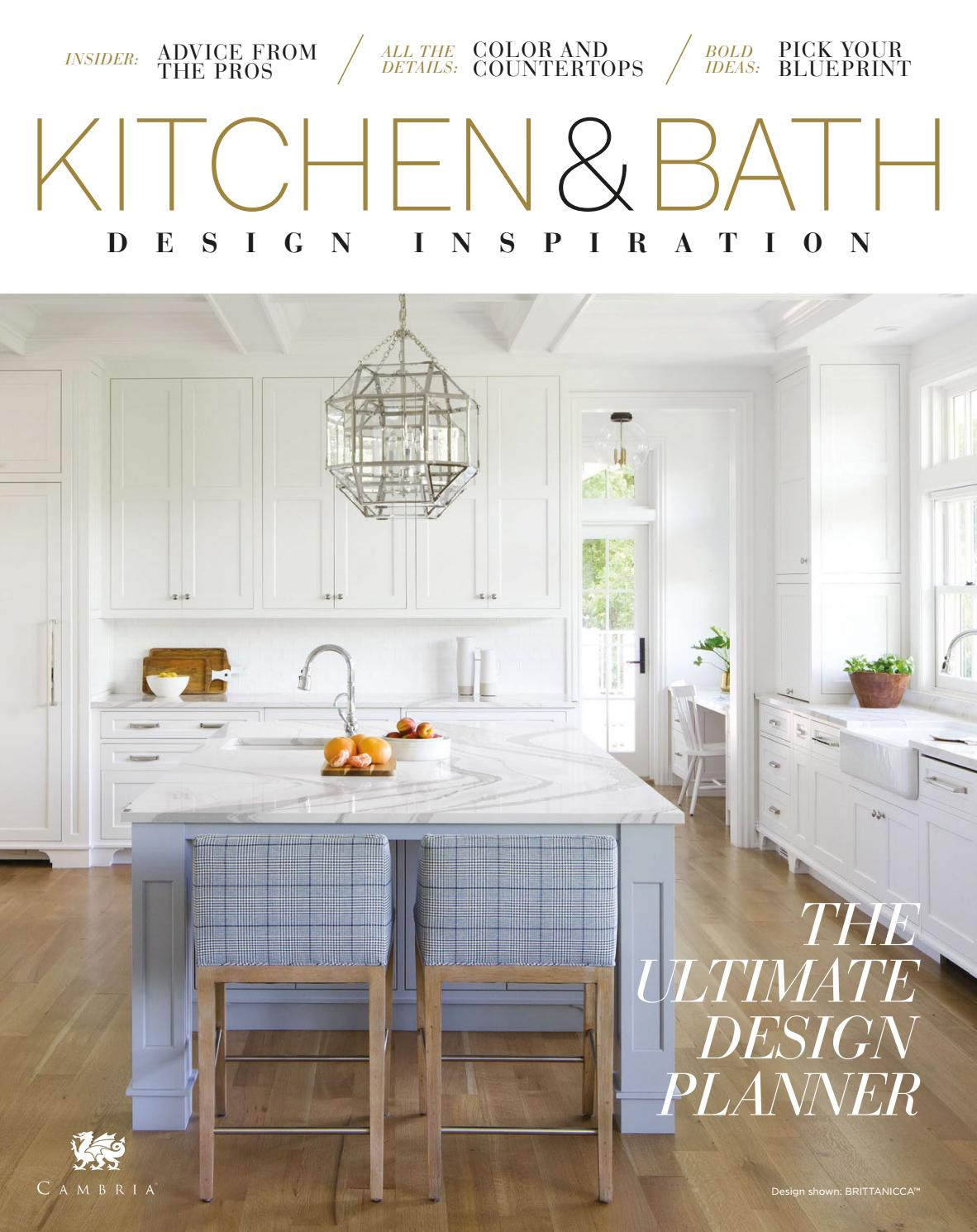 Ultimate Kitchen and Bath Design Planner - Spring 12 by Cambria