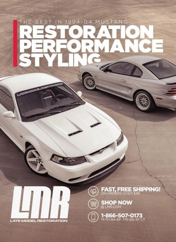 1994-04 Ford Mustang Catalog by Late Model Restoration - issuu