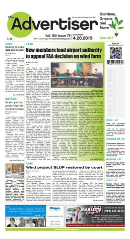 TCA 4-20-19 by Tuscola County Advertiser - issuu