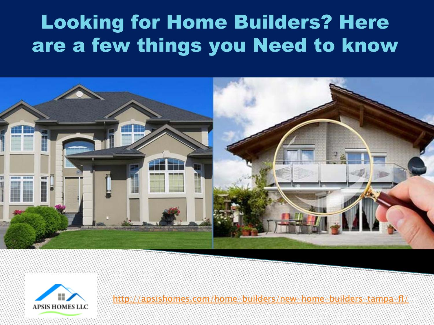 Home Builders Tampa Fl By Apsishomes
