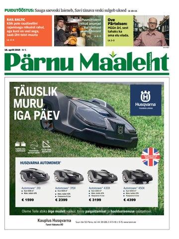 72c2610c22a Pärnu Maaleht (aprill 2019) by Ekspress Meedia AS - issuu